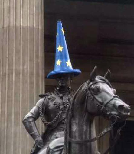 Глазго, Brexit, выход великобритании из ЕС, фото