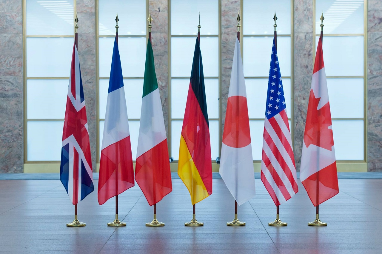Послы стран G7 следят за ситуацией с Саакашвили