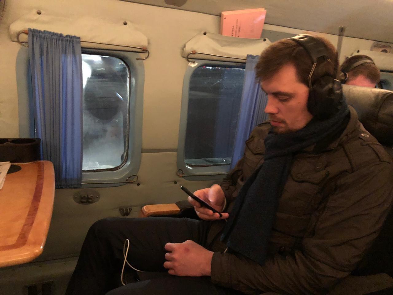 Эвакуация из Уханя: Гончарук поблагодарил экипаж самолета