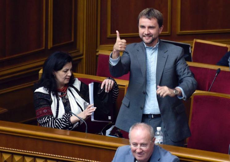 Вятрович идет на выборы в команде Порошенко
