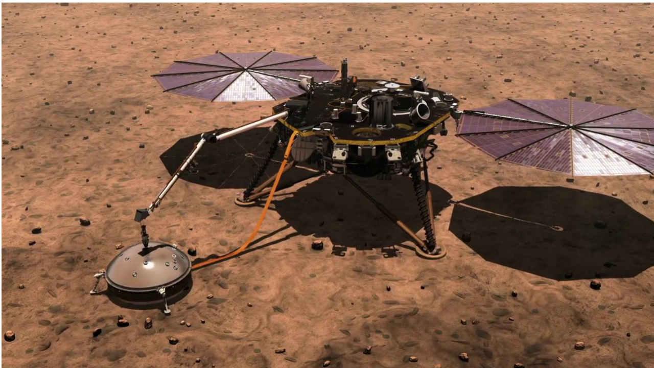 Без грохота и тряски. NASA окончательно подтвердило наличие марсотрясени...