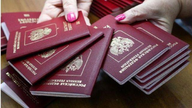 В РФ назвали количество получивших российские паспорта жителей Донбасса