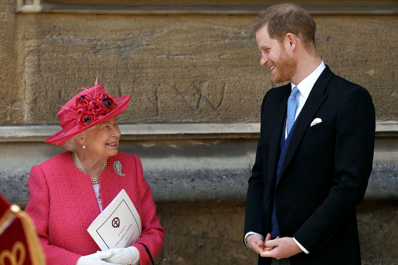 Блудный принц: Гарри встретился с бабушкой Елизаветой в Виндзорском замке