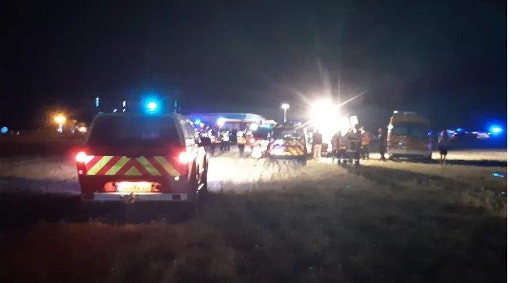 Пятеро детей сгорели заживо. Во Франции многодетная семья попала в ДТП