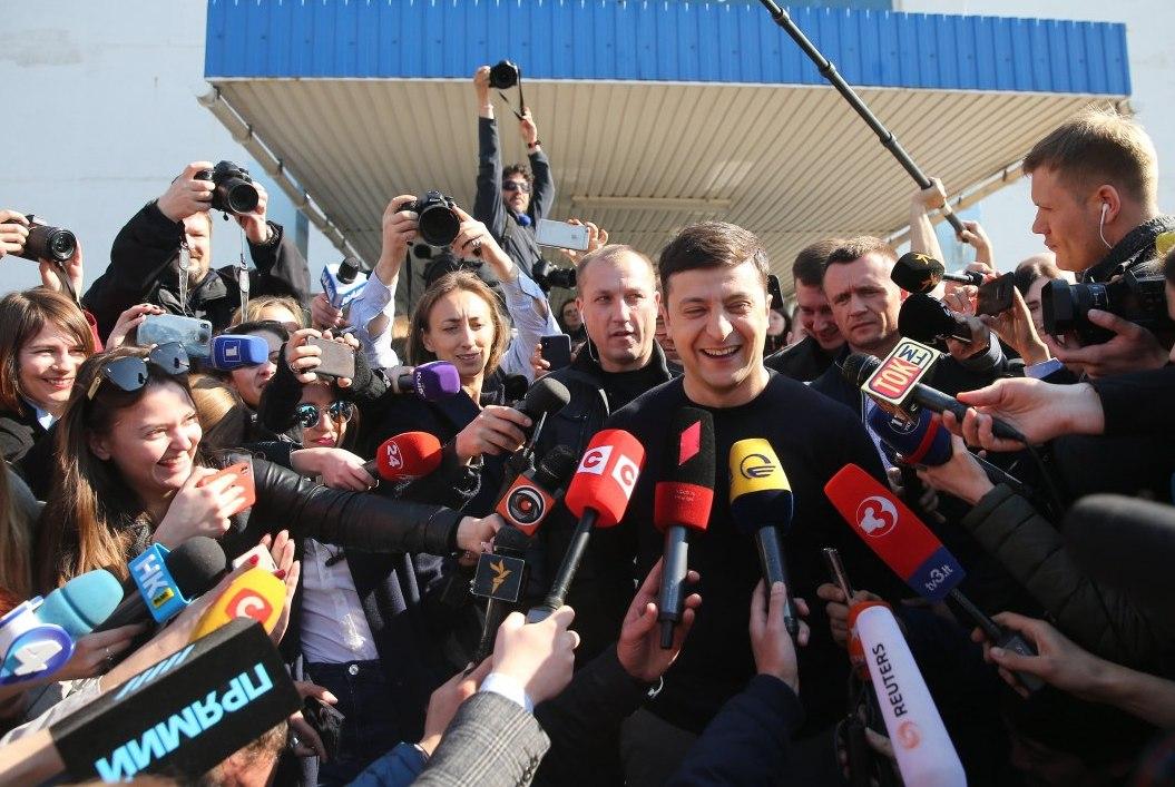 Выборы в Украине и Владимир Зеленский – самые популярные поисковые запро...