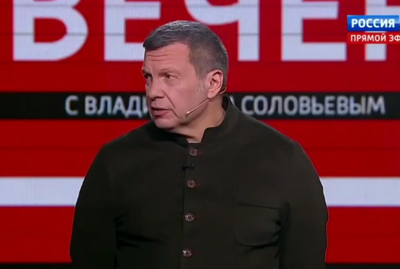 У Соловьева заявили, что сирийские террористы уже на пороге России