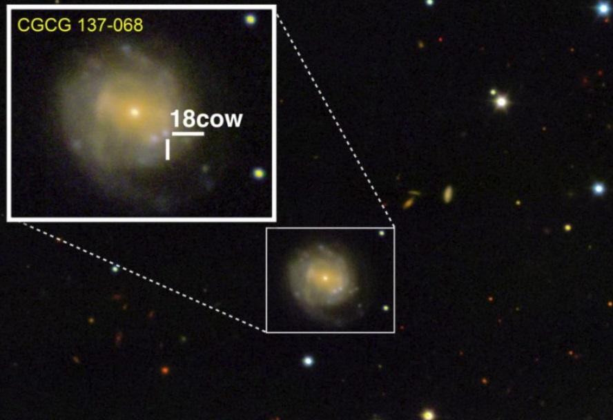Телескопы впервые засняли рождение черной дыры