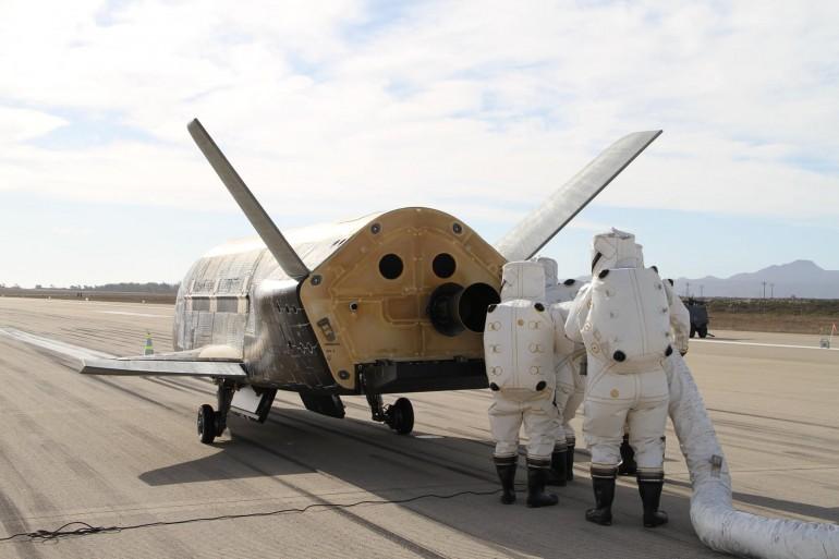 Рейтинг самых быстрых военных  самолетов возглавил Х-37b