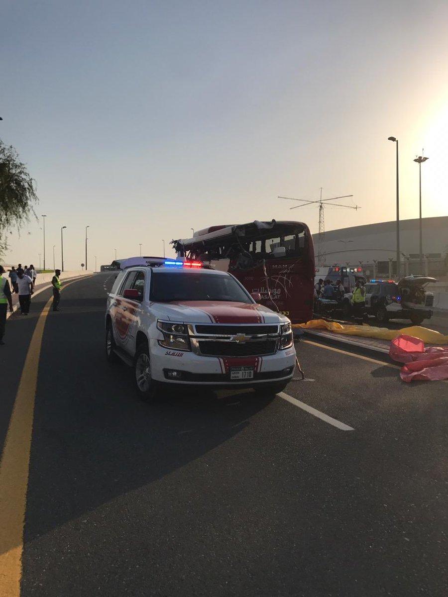 В Дубае в аварии погибли 17 туристов
