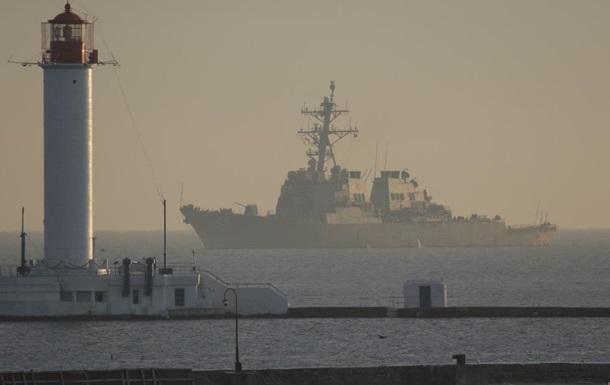 Американский эсминец Donald Cook зашел в Одессу