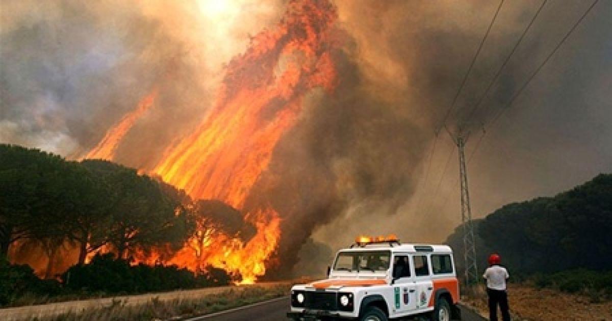 Из-за пожаров на Канарах эвакуированы 4 тысячи человек