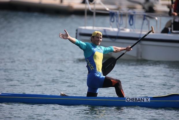 Каноист Чебан выиграл второе золото для Украины