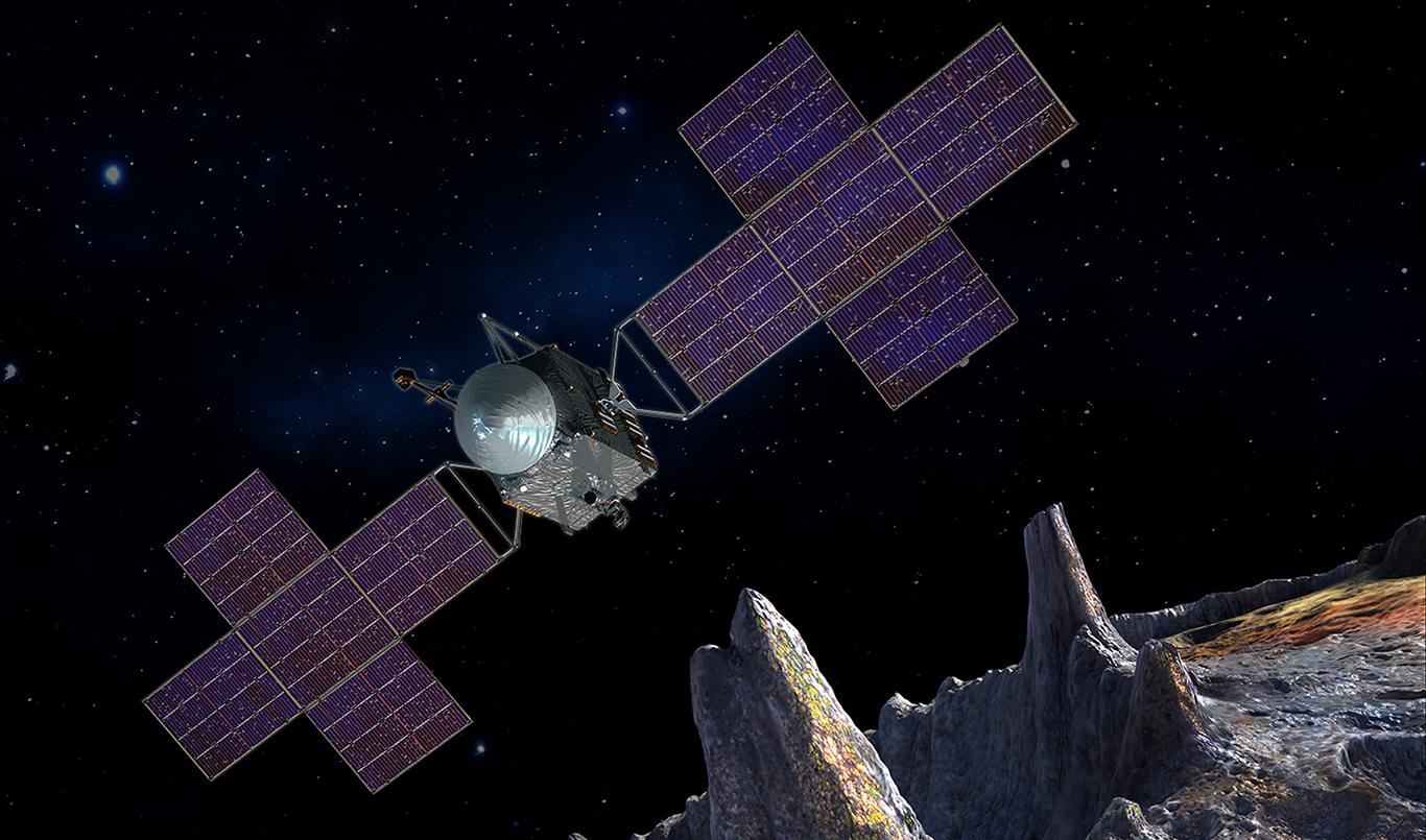 Тайна мертвой планеты: NASA изучит происхождение металлического астероид...