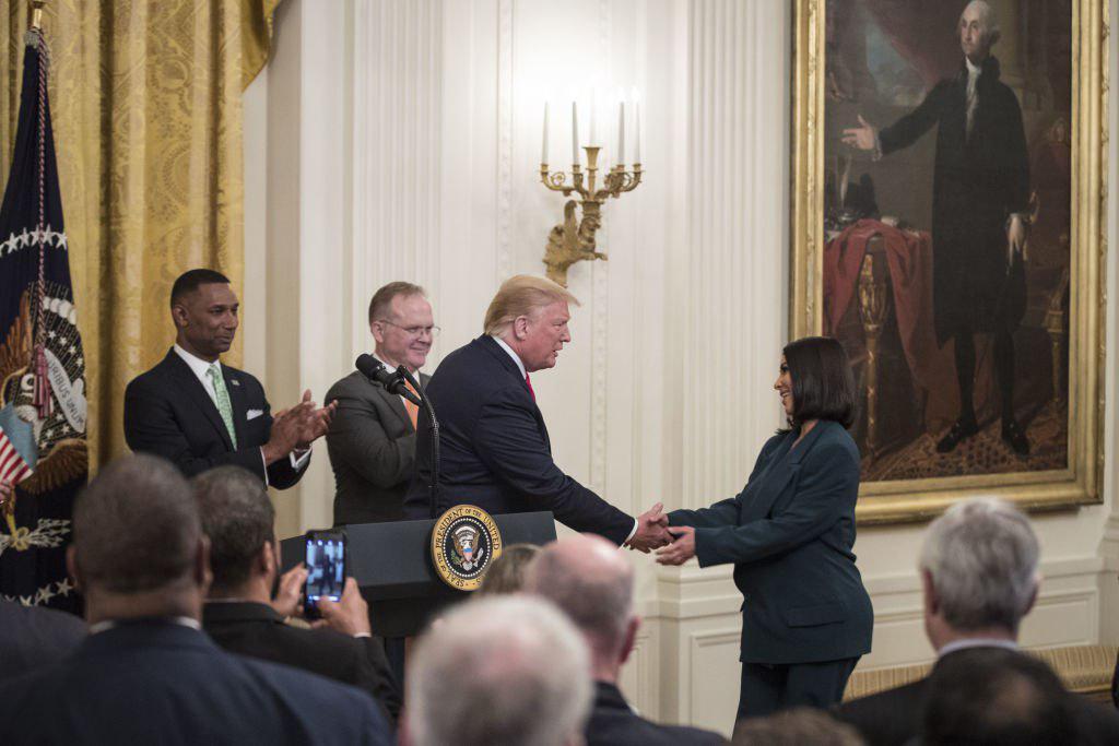 Ким Кардашьян в Белом Доме представила соцпрограмму для бывших заключенн...
