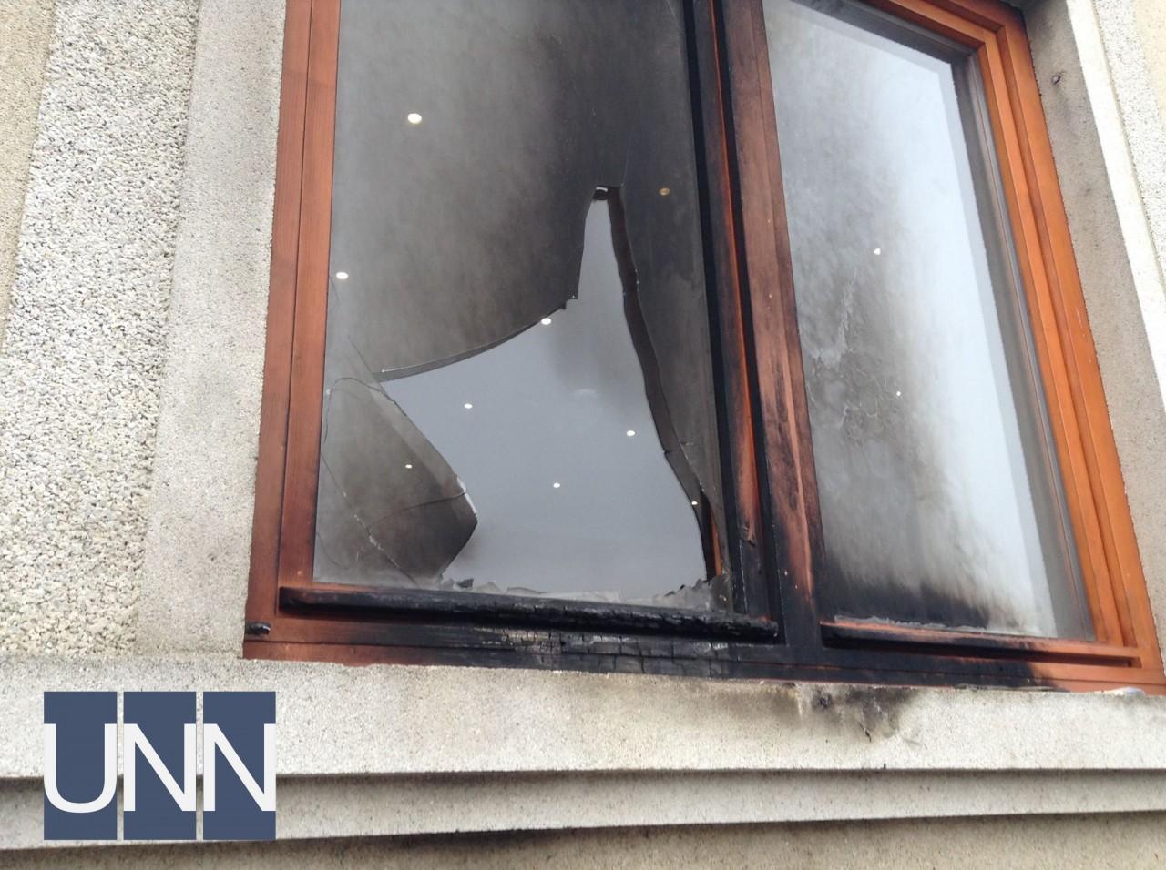 В Ужгороде пытались поджечь офис организации закарпатских венгров