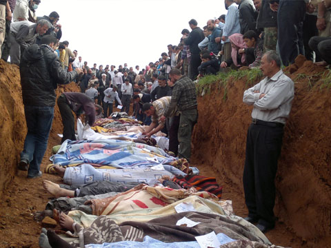 В Сирии за время войны погибли почти 293 тысячи человек