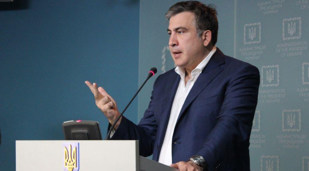 Саакашвили пришел в ГПУ, но говорить с прокурором отказался