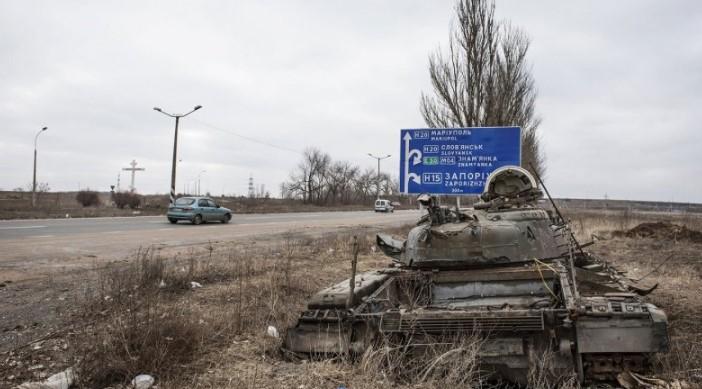 """Стреляли в районе Марьинки. Боевики снова нарушили """"режим тишины"""" на Дон..."""