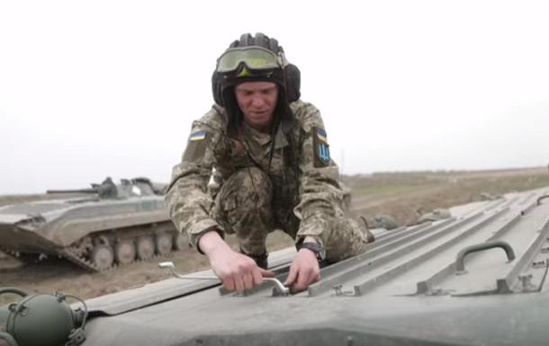 На украинском полигоне испытали боевую технику из Польши