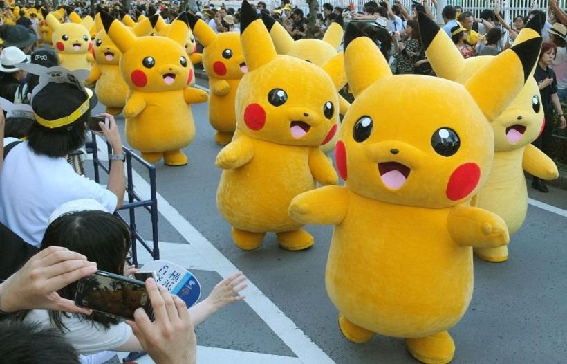 В Японии прошел парад покемонов