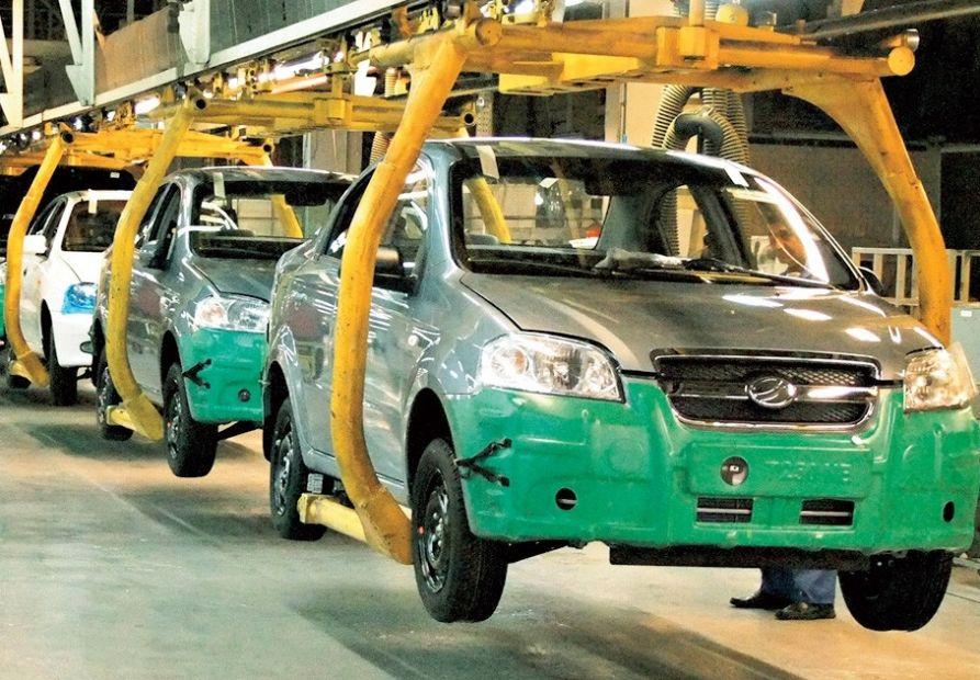 В Украине производство автомобилей сократилось на 30,9%