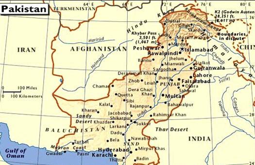 Взрыв на северо-западе Пакистана: погибли 25 человек