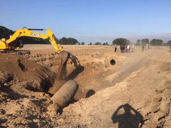 Газопровод под Чабанами восстановили