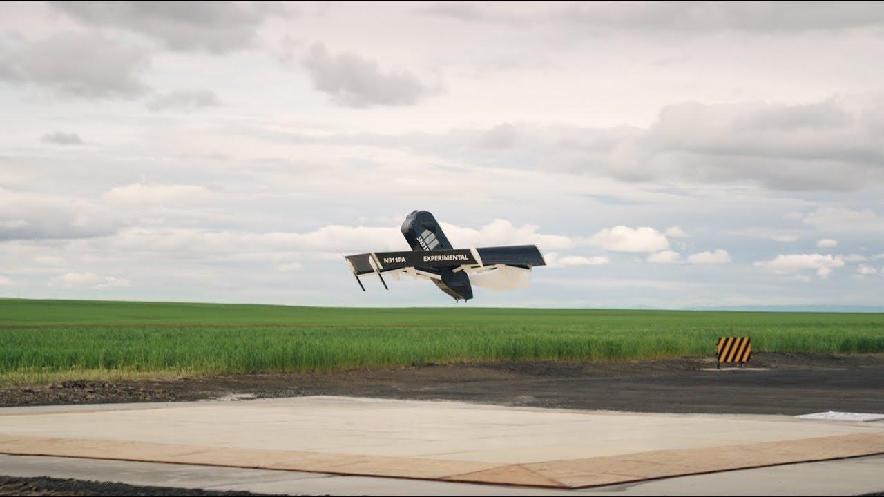 Amazon показала дрон для доставки посылок
