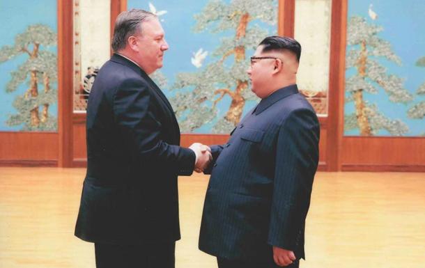 Опубликованы фото со встречи Ким Чен Ына с Помпео
