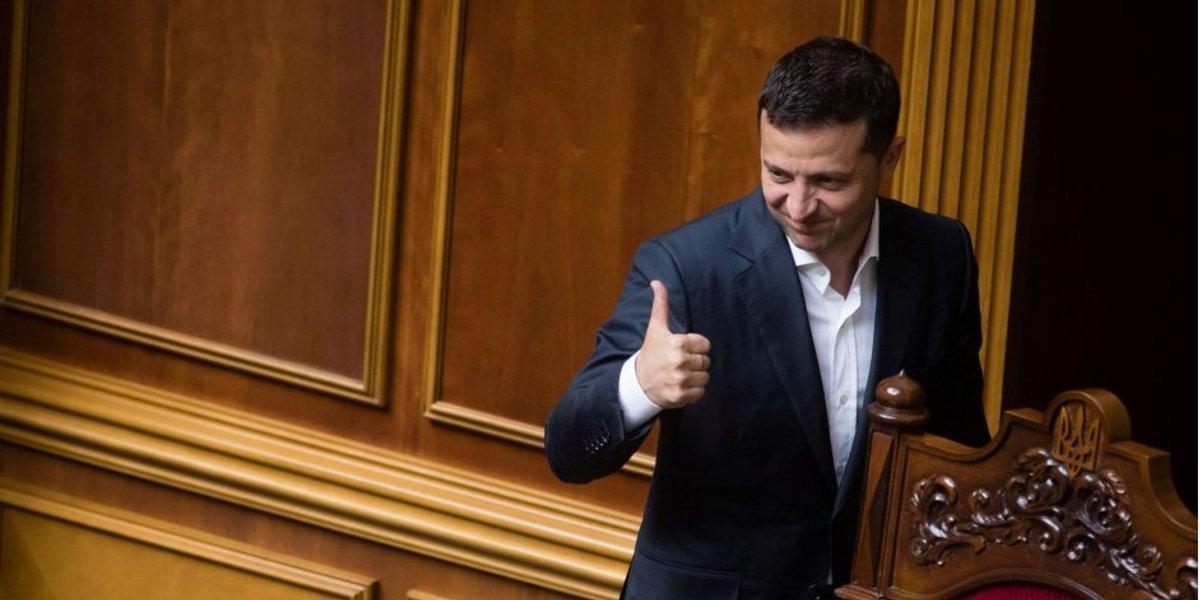 Зеленский подписал закон об омене депутатской неприкосновенности