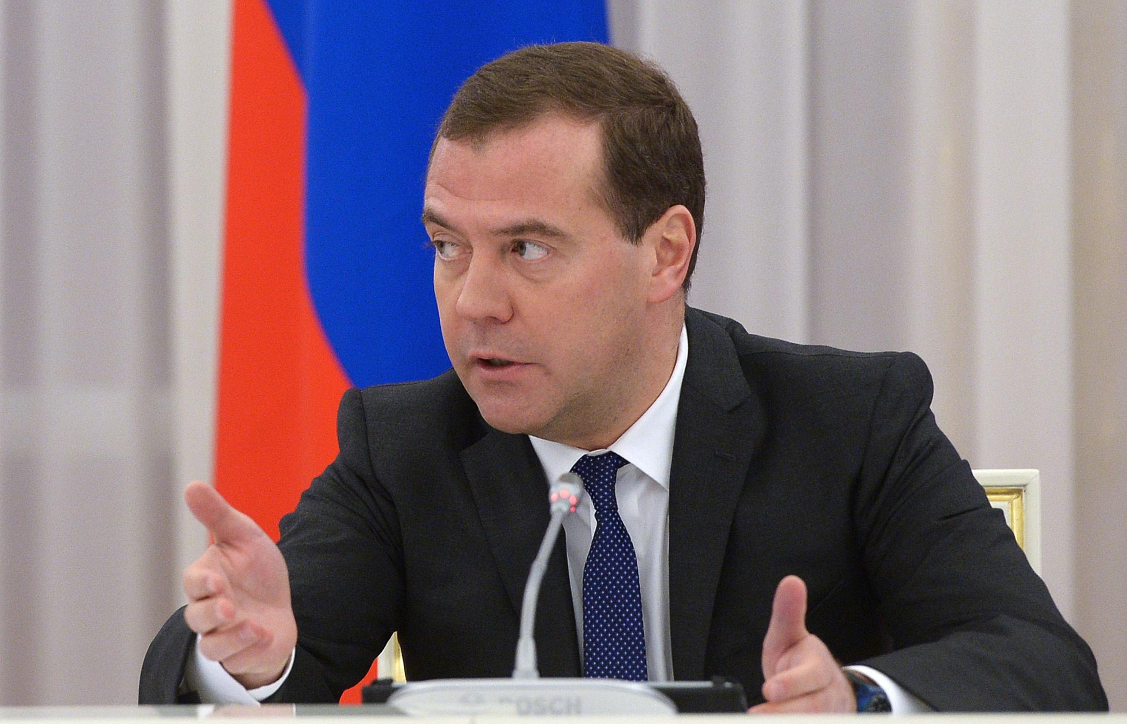 Медведев допустил возможность разрыва Россией дипотношений с Украиной