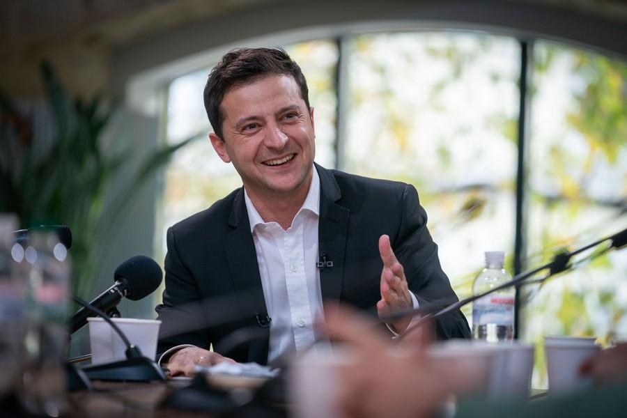 20 мая Зеленский проведет пресс-конференцию в парке возле Мариинского дв...