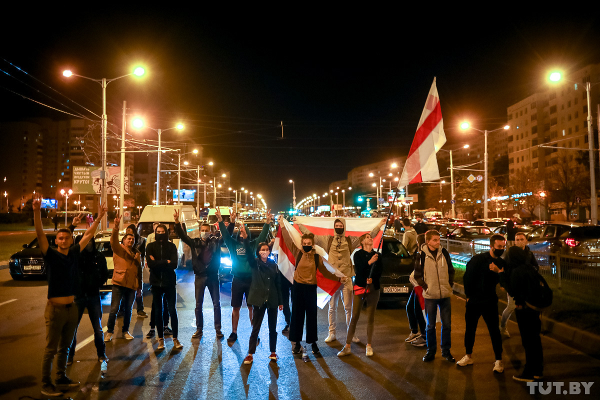 Ночь водометов и насилия: как подавляли протесты в Беларуси после тайной...