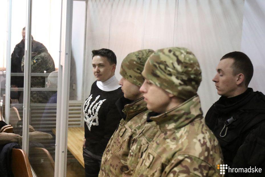 Надежда Савченко обматерила прокурора