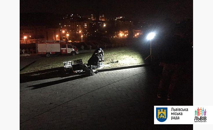 У польского Мемориала орлят во Львове произошел взрыв
