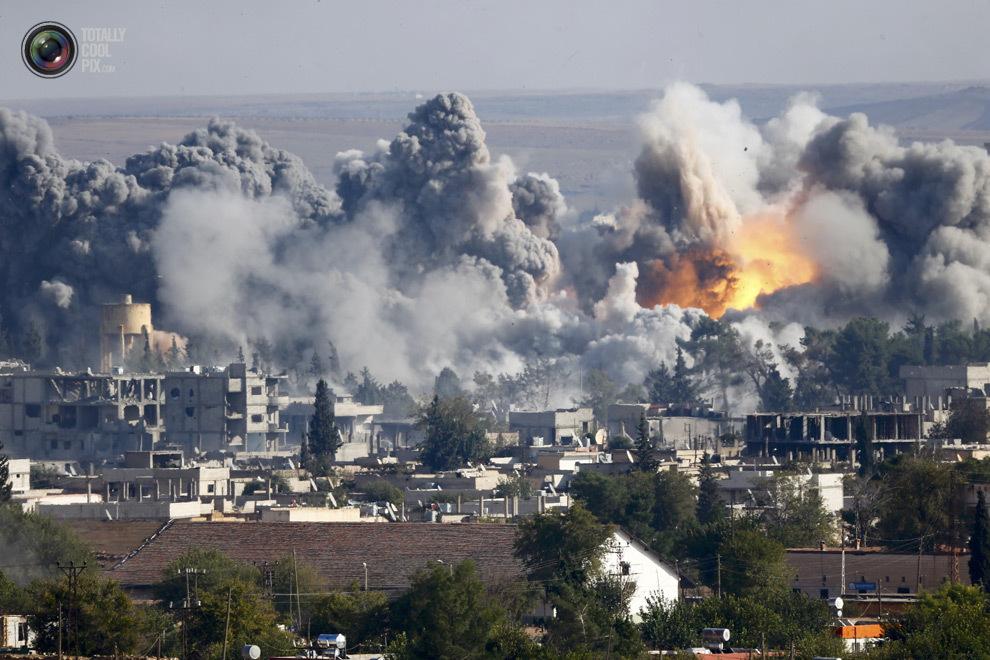 """ВВС Сирии сбросили """"вакуумные бомбы"""" на Идлиб"""