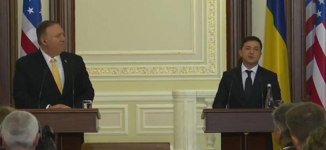 Зеленский: Импичмент Украину и США не поссорил, скорее наоборот