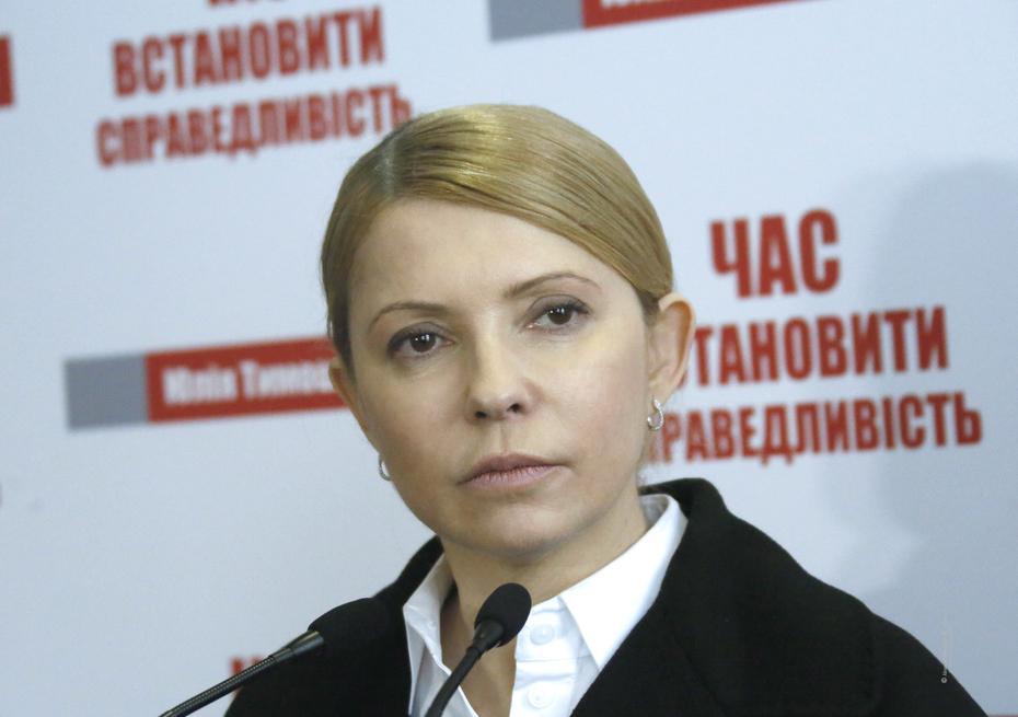 Тимошенко: Батькивщина не будет инициировать лишение Савченко депутатско...