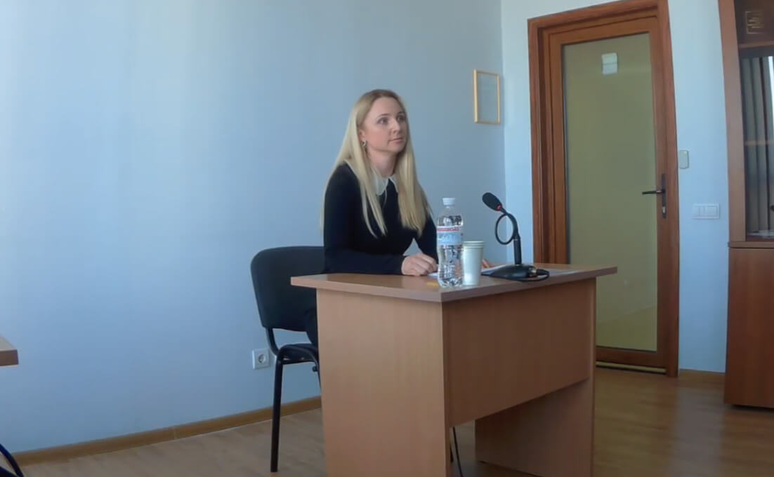 фото, Екатерина  Середа, судья Печерского районного суда Киева