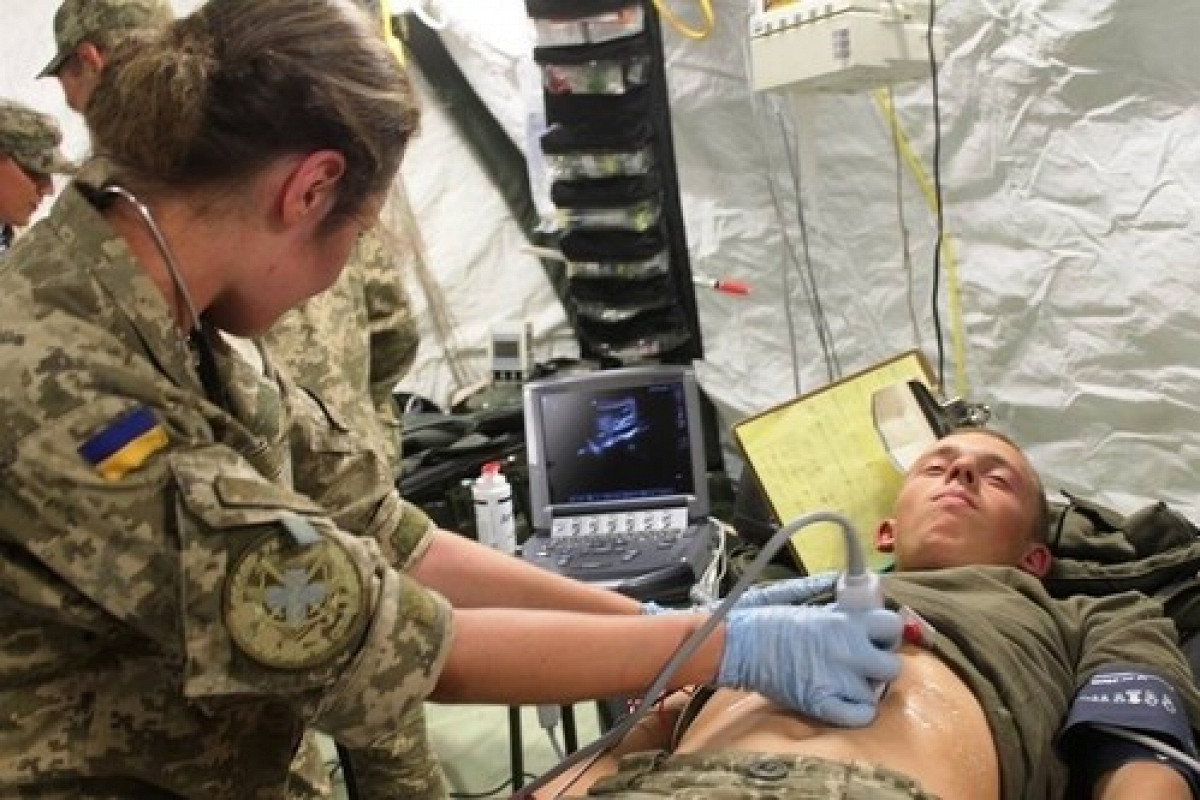 В ВСУ появилось Командование медицинских сил