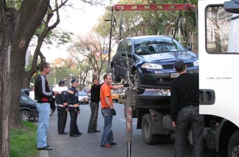 Киевское МВД объяснило новые правила эвакуации авто