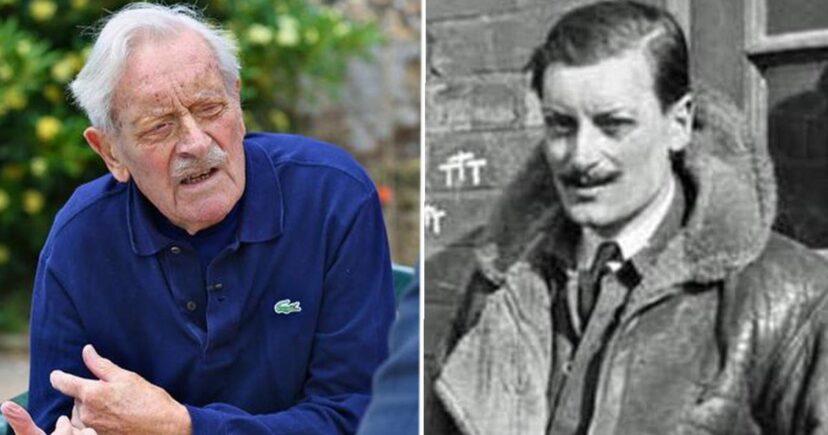"""В 101 год скончался один из последних участников """"Битвы за Британию"""" во..."""