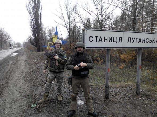 Боевики срывают начало разведения сил у Станицы Луганской, – штаб ОС