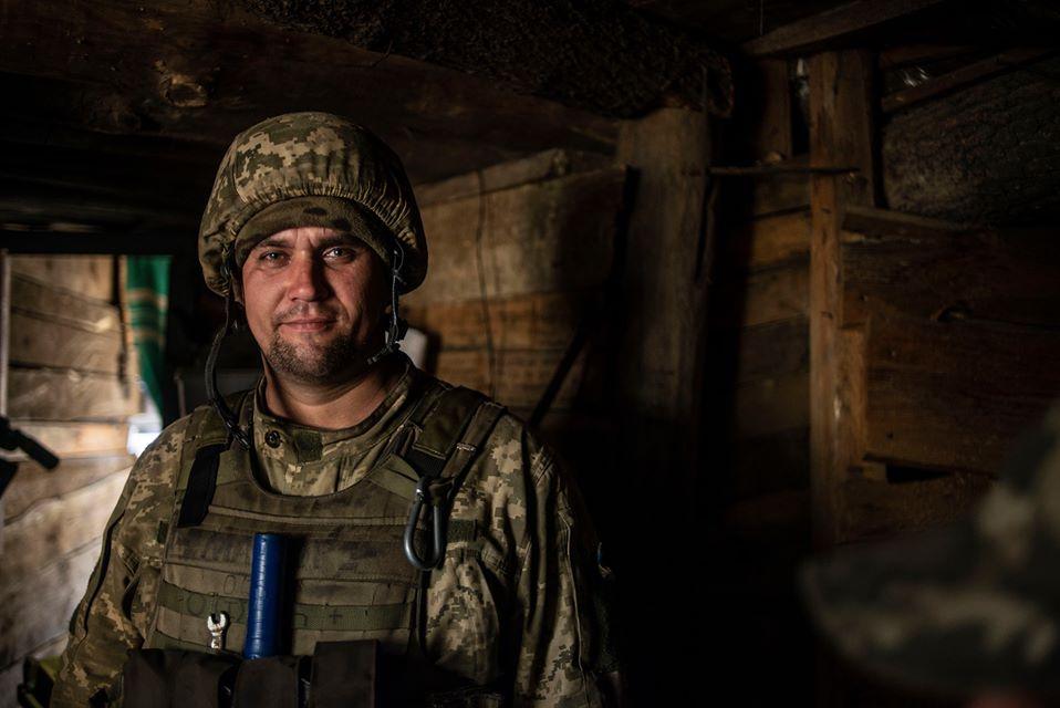 На фронте  – с 2014 года. Во время обстрела погиб пехотинец ВСУ с позывн...