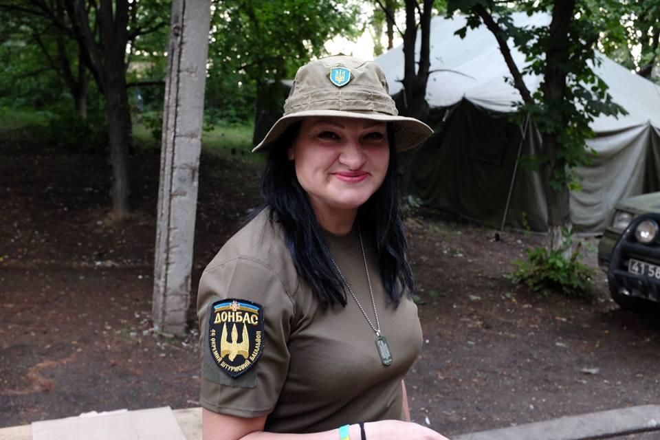 Пулеметчицу Яну Червоную посмертно наградили орденом Богдана Хмельницког...