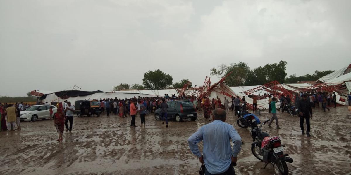В Индии погибли 14 человек во время собрания верующих