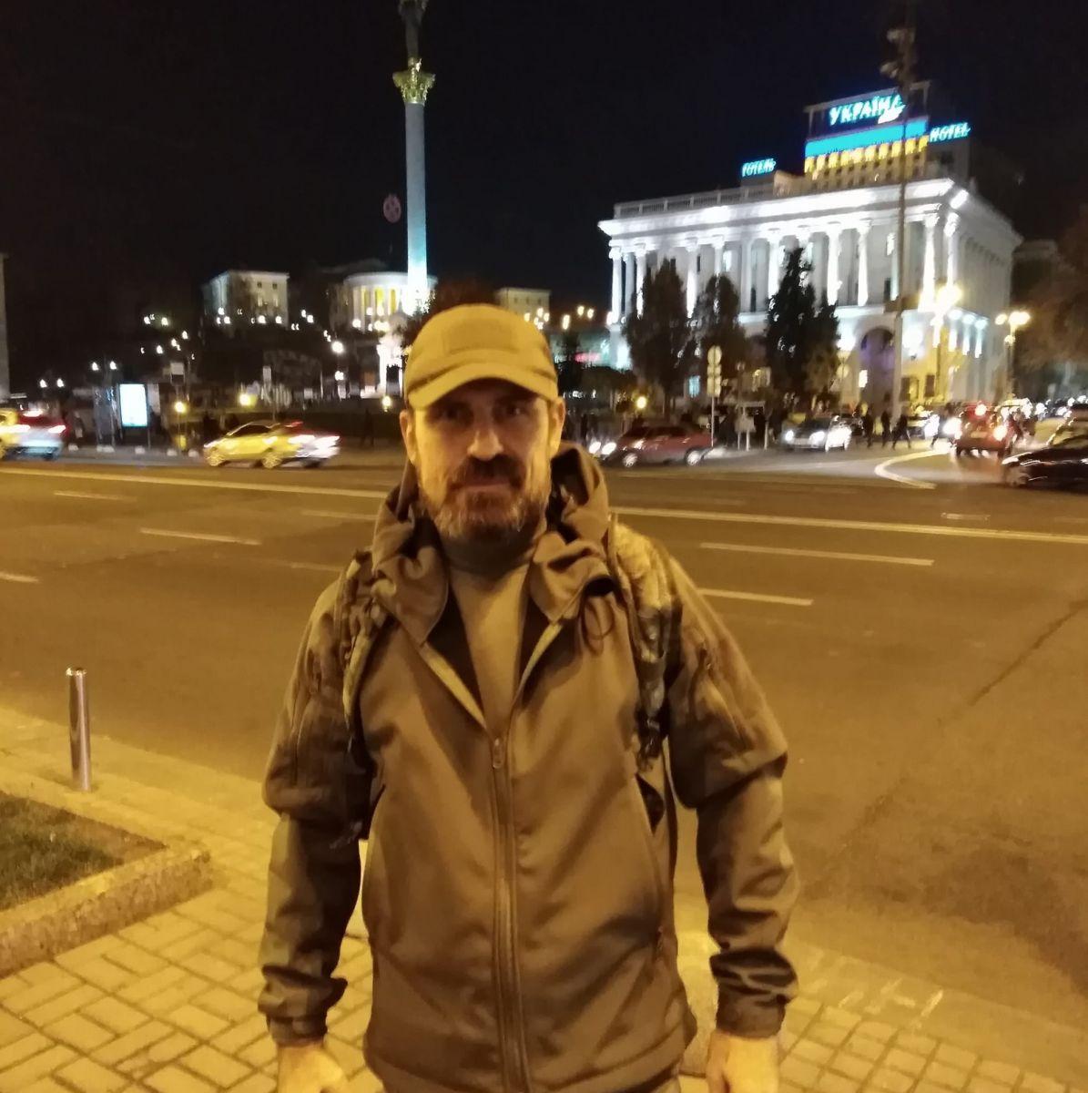 Стали известны подробности самоподжога мужчины на Майдане в Киеве