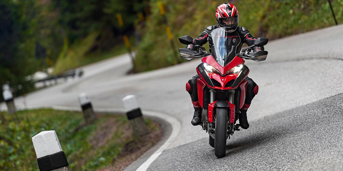 Четыре в одном. Новый мотоцикл Ducati Multistrada 1200S