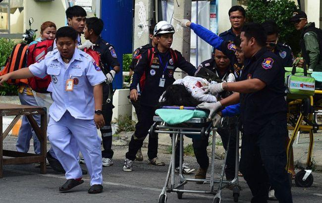 На юге Таиланда произошла серия взрывов, есть раненые