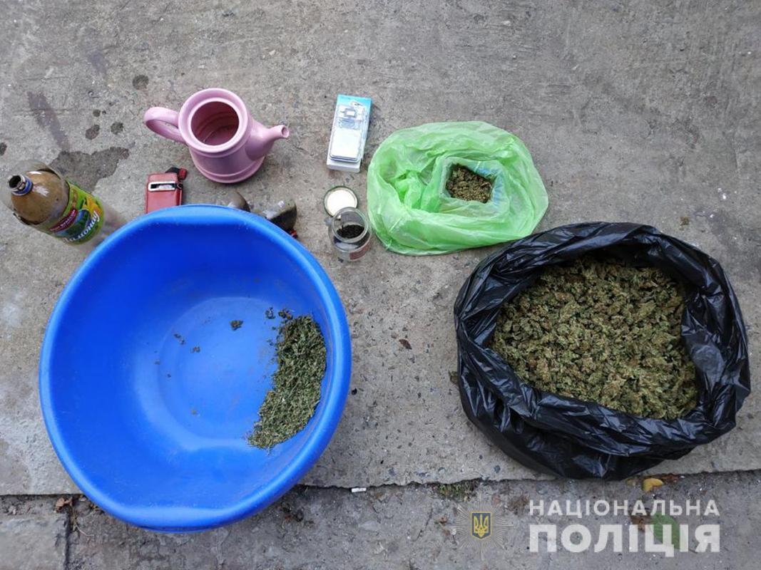 В Запорожье полицейские изъяли наркотики более чем на 100 тысяч гривен